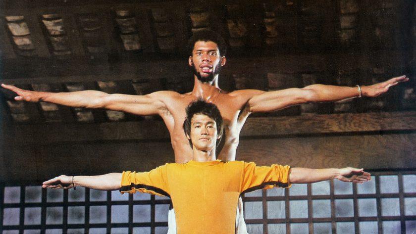 Avec Bruce Lee