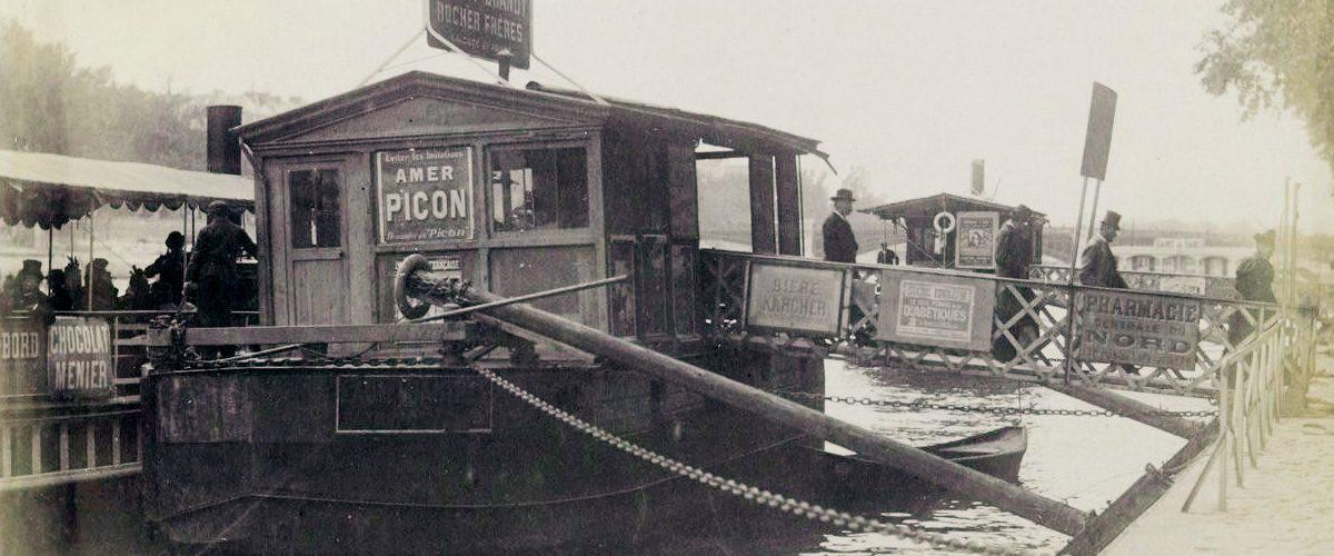 Les bateaux parisiens prennent la Mouche