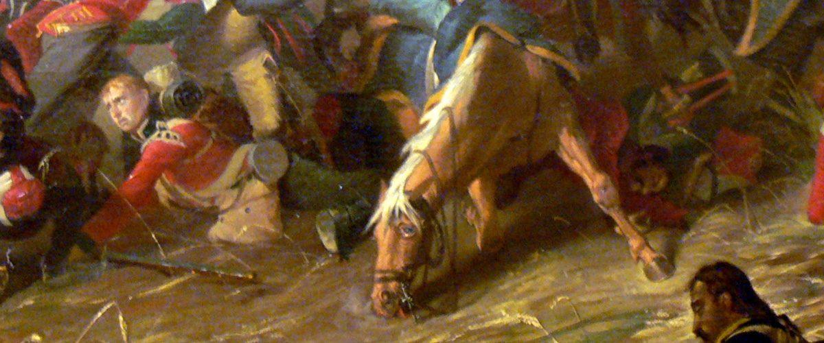 Waterloo - L'horreur pour les chevaux aussi