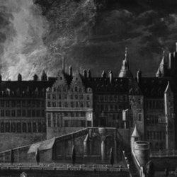 Ivrognerie, pudibonderie et….confiture : l'incendie du palais du Coudenberg de Bruxelles en 1731