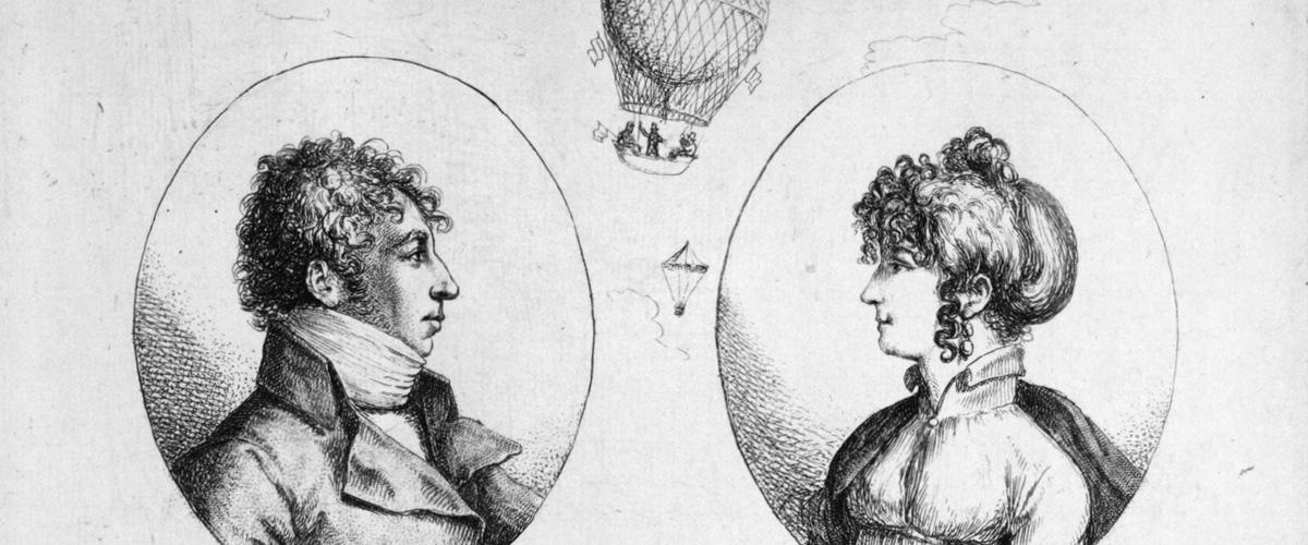 Le premier saut en parachute date du XVIIIe siècle !