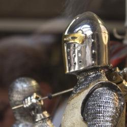 L'armure des chevaliers n'était pas si lourde