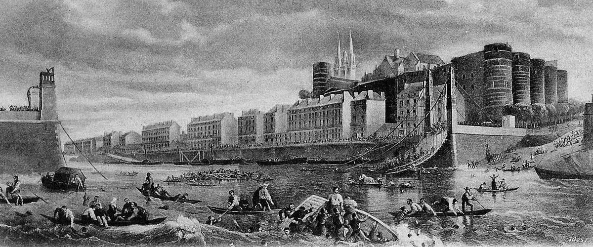 Les bataillons ne peuvent pas traverser un pont au pas
