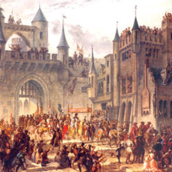 Malgré 60 000 soldats, Charles Quint échoua à reprendre Metz