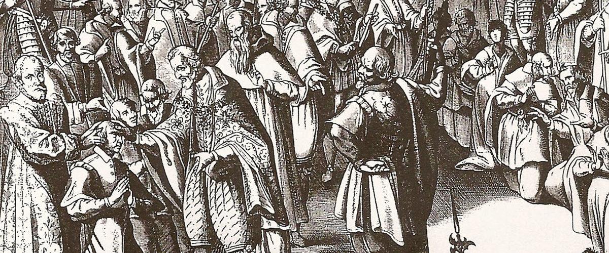 Charitables, les rois donnaient un coup de main aux scrofuleux