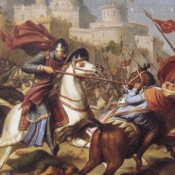 Siège d'Antioche : bataille des têtes volantes