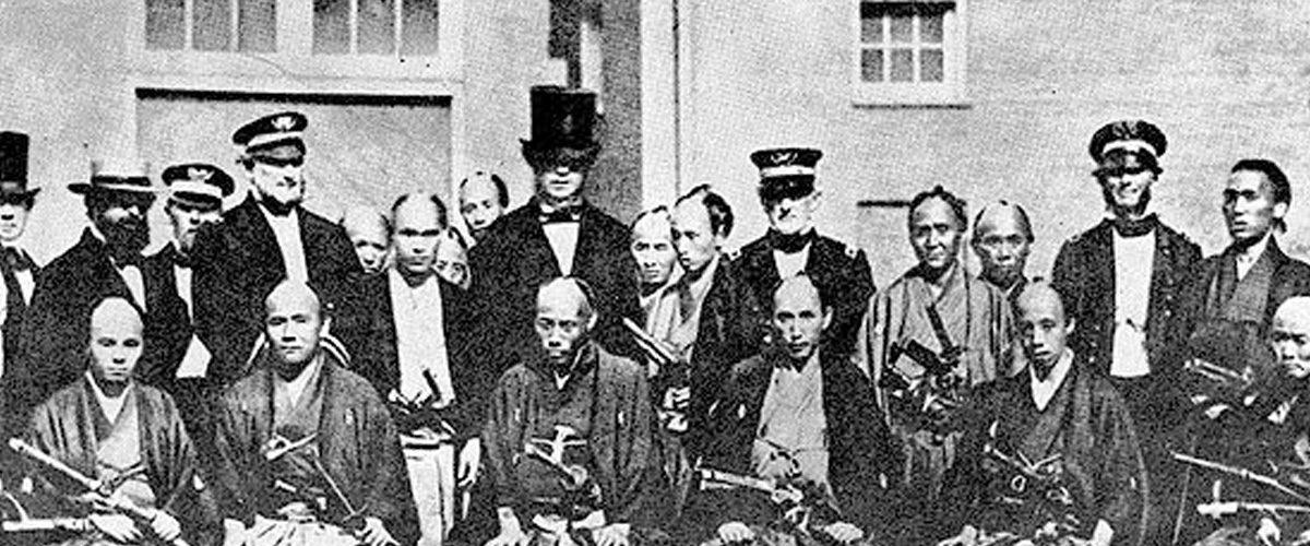 1860 : des samurais… à New York !