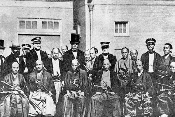 1860 : des samurais… à New York !
