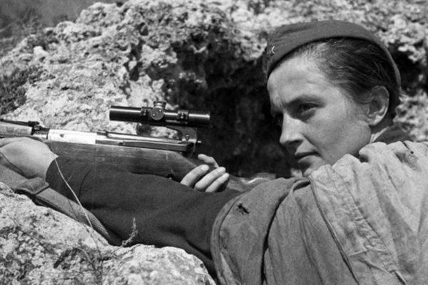 Tireuse d'élite soviétique, amie d'Éléonore Roosevelt, femme.