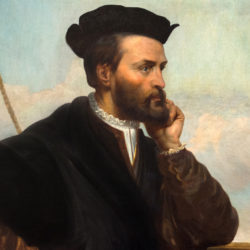 Jacques Cartier et les Indiens