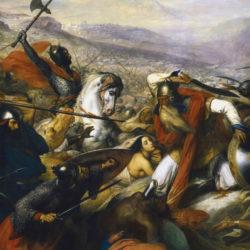 Charles Martel, sus aux Sarrazins