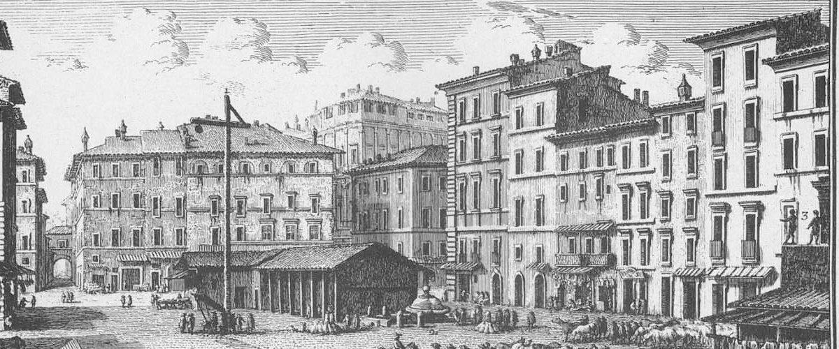 Campo de' Fiori: le célèbre marché de Rome aux relents de fleurs et de sang
